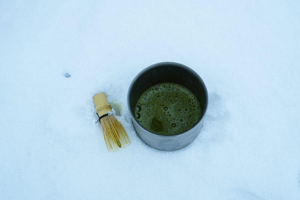 冬の中井侍